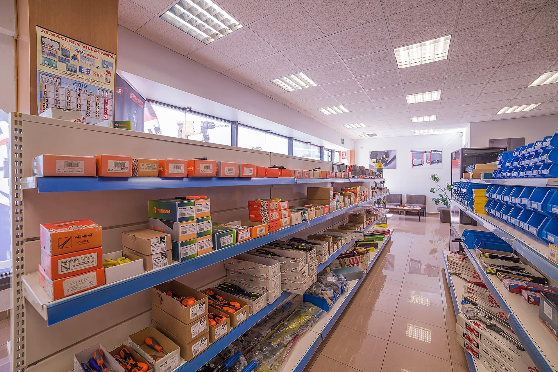 tienda de suministros industriales
