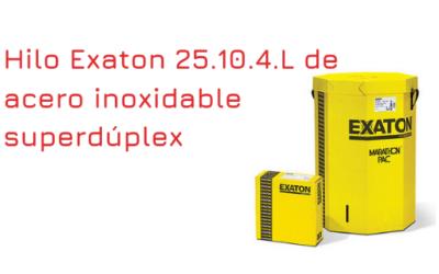 Hilo Exaton 25.10.4.L de acero inoxidable superdúplex